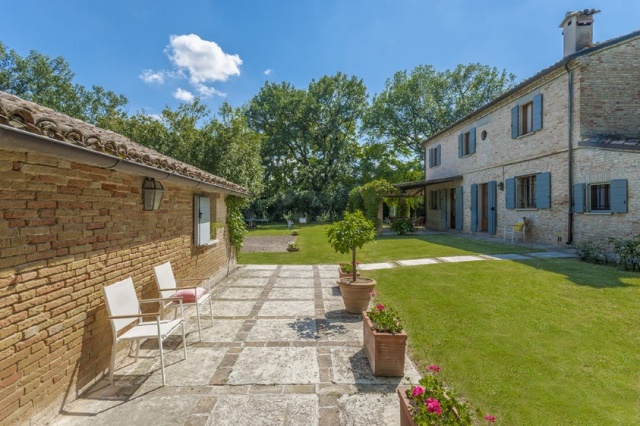 Le Marche Vakanties Vakantie Villa Nabij Zee Pesaro Urbino 32