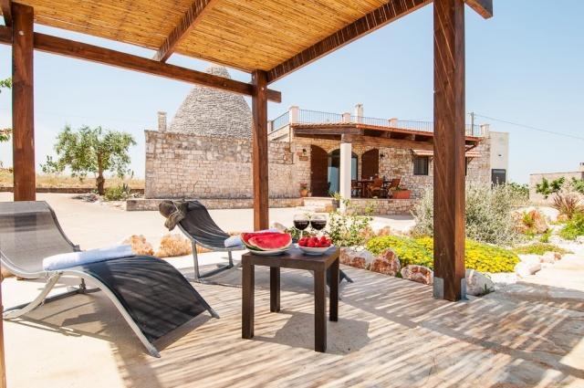 Leuke Trullo Voor 6p Met Pool In Puglia 10