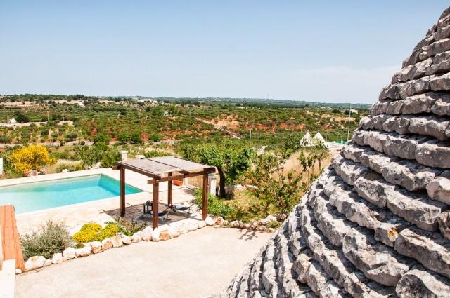 Leuke Trullo Voor 6p Met Pool In Puglia 29