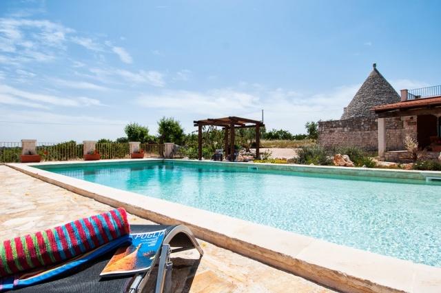 Leuke Trullo Voor 6p Met Pool In Puglia 5