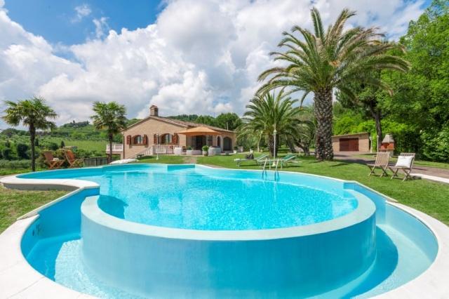 Luxe Villa 6km Van Zee Fano Le Marche 26