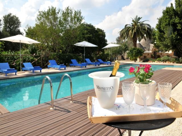 Luxe Vrijstaande Trullo Voor 5p Met Zwembad In Puglia 9