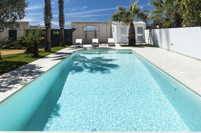 Marsala Sicilie Vakantiewoning Direct Aan Zee Met Zwembad 4