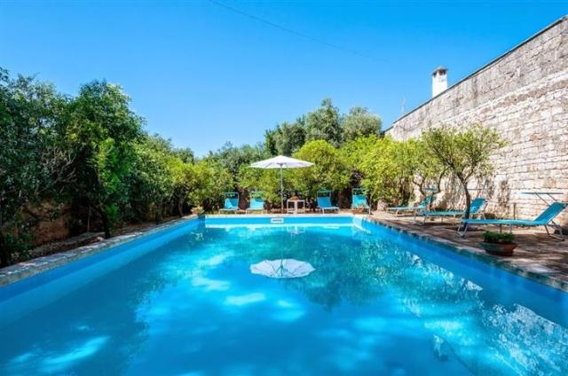 Masseria Met Zwembad Voor 8p In Puglia 2d