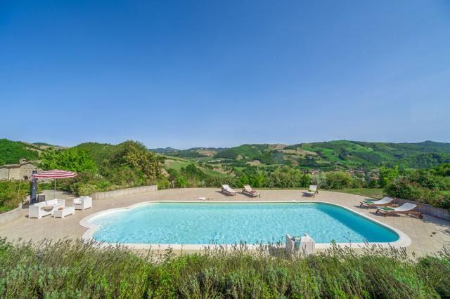 Noord Le Marche Urbino Villa Zwembad 1