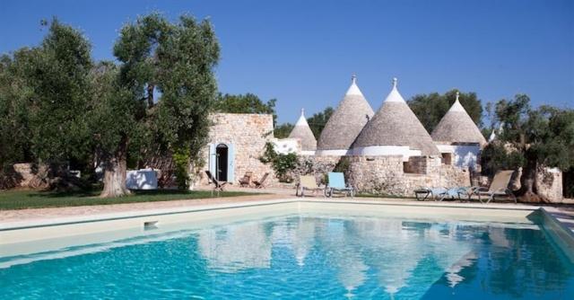 Originele Trullo Voor 8p Met Pool In Puglia 10