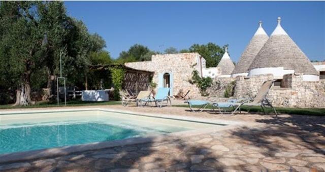 Originele Trullo Voor 8p Met Pool In Puglia 17