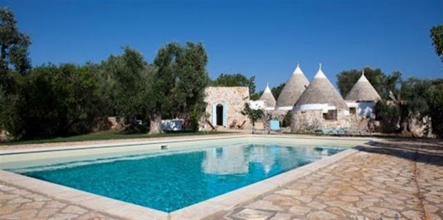 Originele Trullo Voor 8p Met Pool In Puglia 18