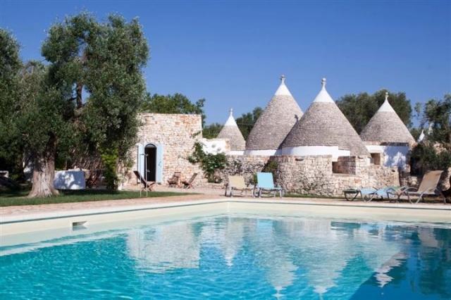 Originele Trullo Voor 8p Met Pool In Puglia 30