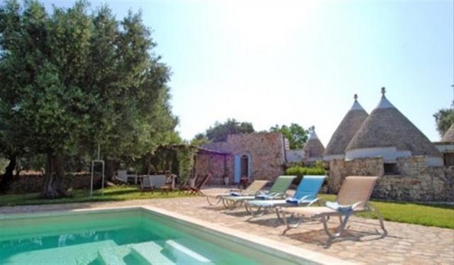 Originele Trullo Voor 8p Met Pool In Puglia 31