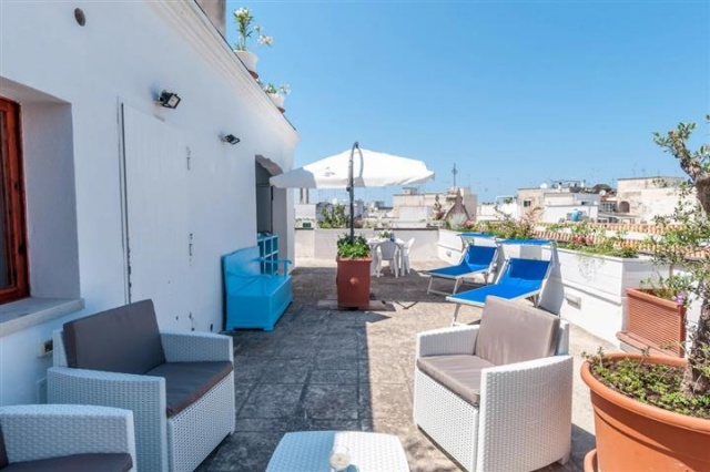 Penthouse Appartement Voor 6p Monopoli Puglia 12