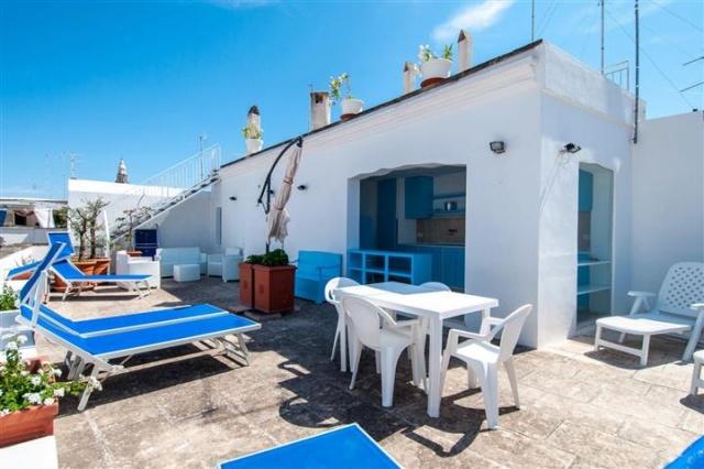 Penthouse Appartement Voor 6p Monopoli Puglia 13