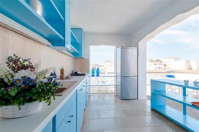 Penthouse Appartement Voor 6p Monopoli Puglia 21