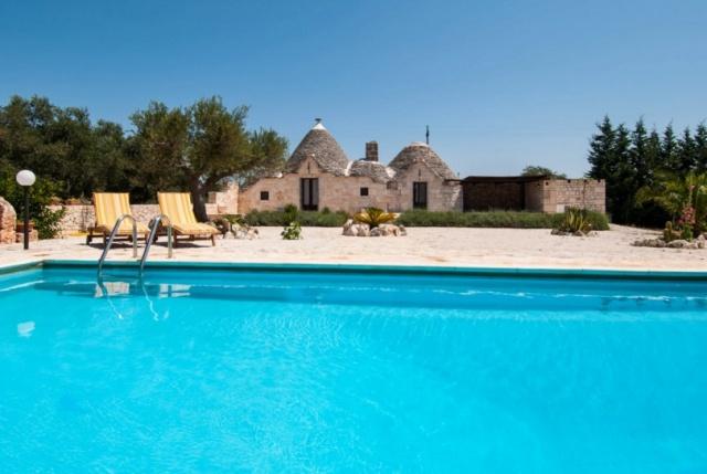Prachtige Trullo In Puglia Zwembad 11