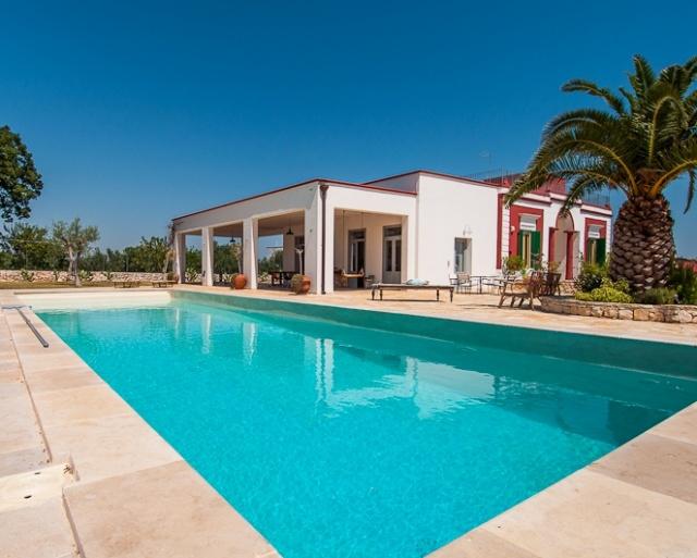 Prachtige Villa Voor 16p Met Zwembad In Puglia 26
