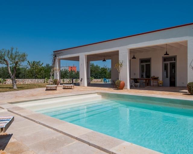 Prachtige Villa Voor 16p Met Zwembad In Puglia 28