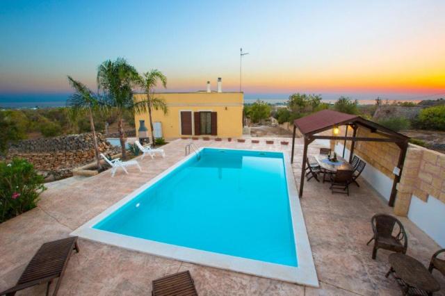 Puglia Gallipoli Vakantievilla Met Zwembad En Zeezicht 32