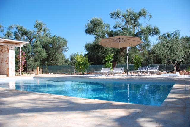 Puglia Trullo Met Prive Zwembad Brindisi San Michele Salentino 2