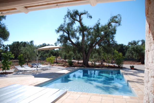 Puglia Vakantie Trullo Met Prive Zwembad
