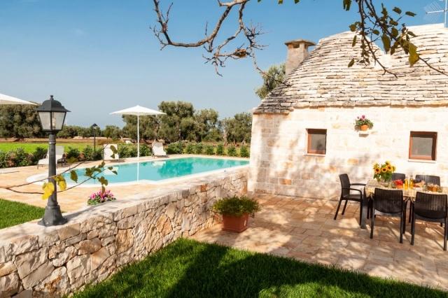 Puglia Vakantie Trullo Prive Zwembad Nabij Kust 12