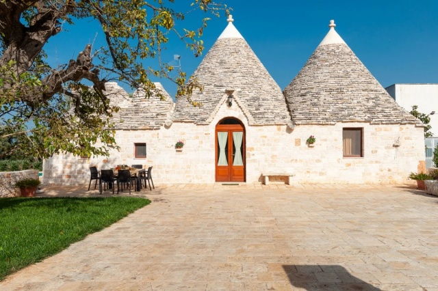 Puglia Vakantie Trullo Prive Zwembad Nabij Kust 15