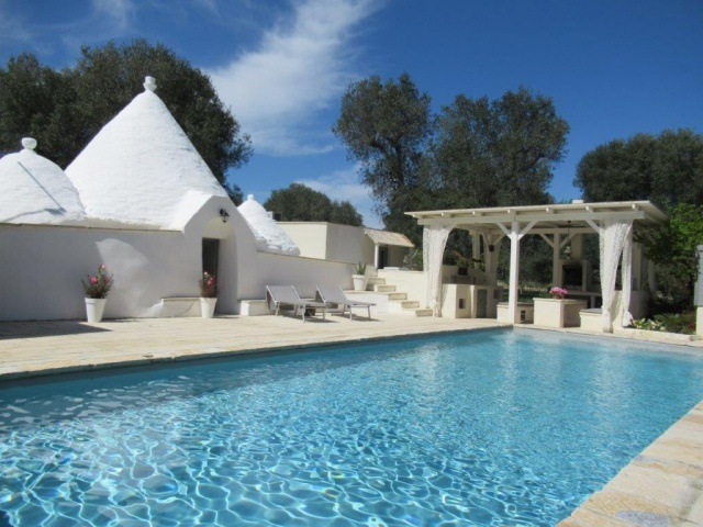 Puglia Vakanties Trullo Met Zwembad Brindisi 7 Tot 9 Personen 42