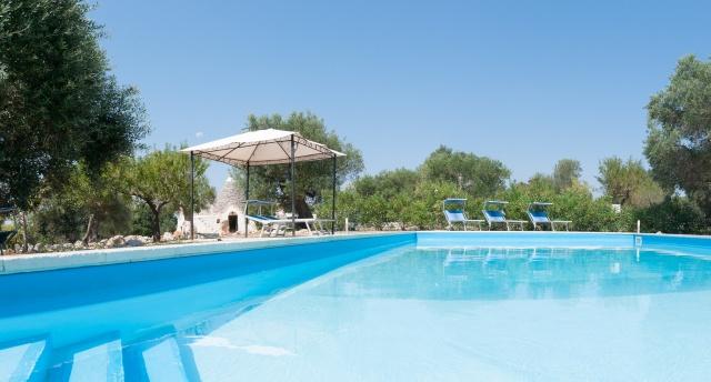 Puglia Vakanties Vakantie Trullo Met Zwembad Bij Castellana Grotte 44