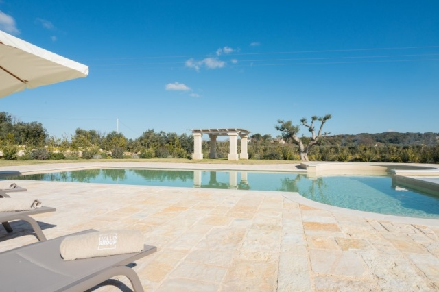 Puglia Villa Prive Zwembad Ceglie 2
