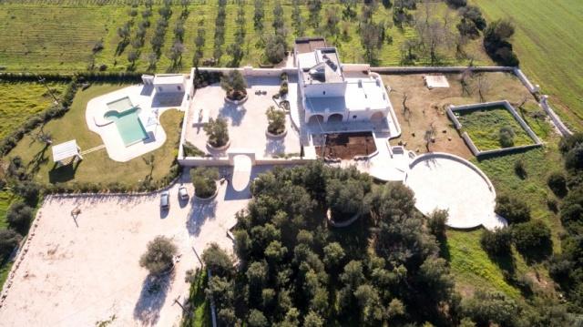 Puglia Villa Prive Zwembad Ceglie 5