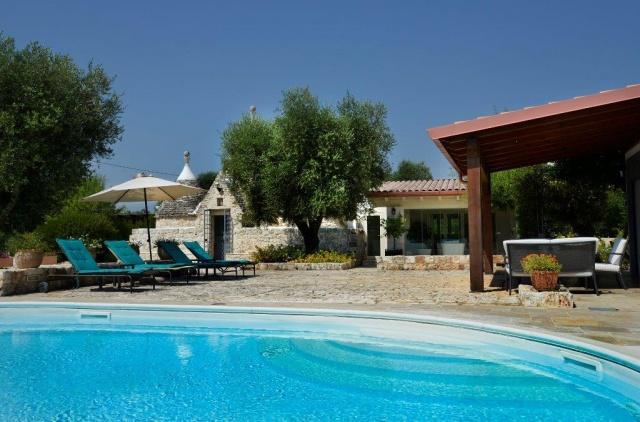Puglia Zuid Italie Luxe Trullo Met Zwembad 15