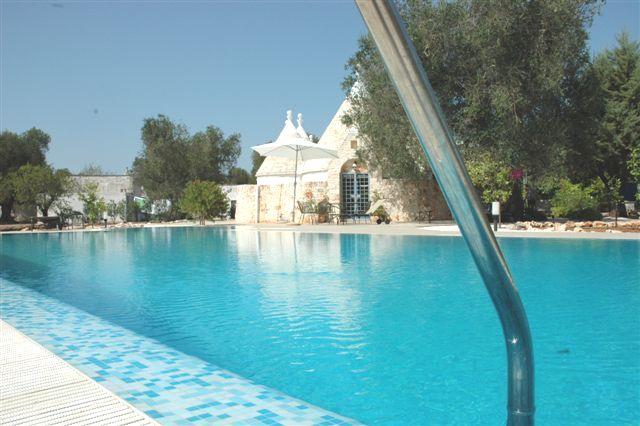 Ruime Trullo Voor 6p Met Zwembad In Puglia 11