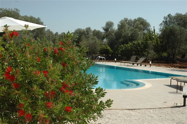Ruime Trullo Voor 6p Met Zwembad In Puglia 5