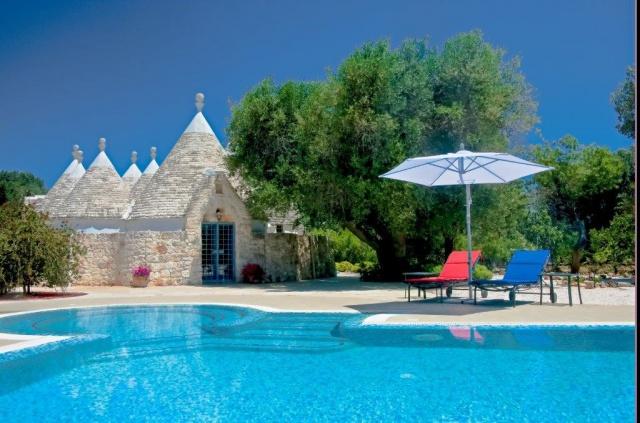 Ruime Trullo Voor 6p Met Zwembad In Puglia 58