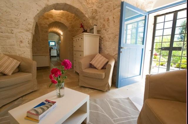 Ruime Trullo Voor 6p Met Zwembad In Puglia 62