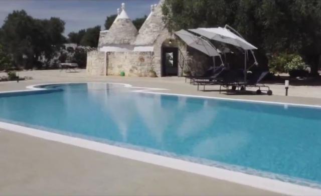Ruime Trullo Voor 6p Met Zwembad In Puglia 69