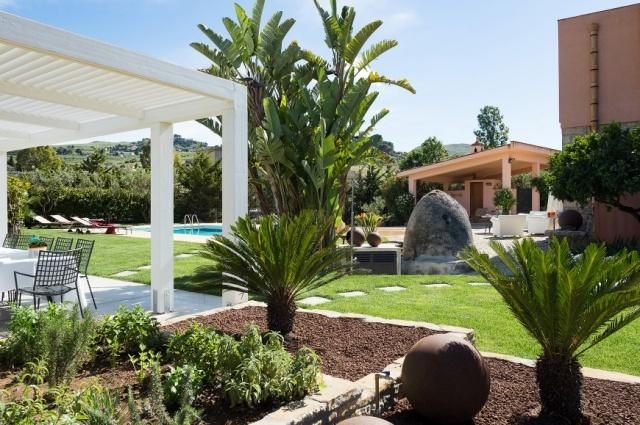 Sicilie Trapani Grote Luxe Villa 18p Zwembad 10