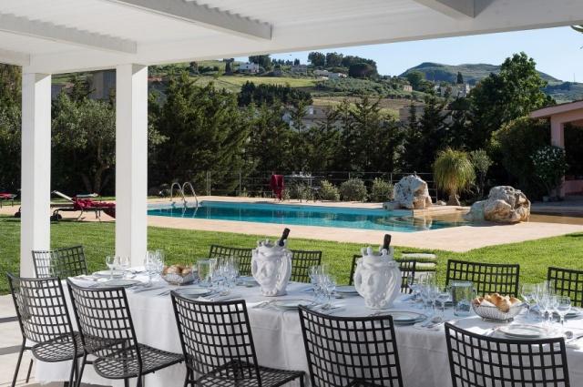 Sicilie Trapani Grote Luxe Villa 18p Zwembad 12