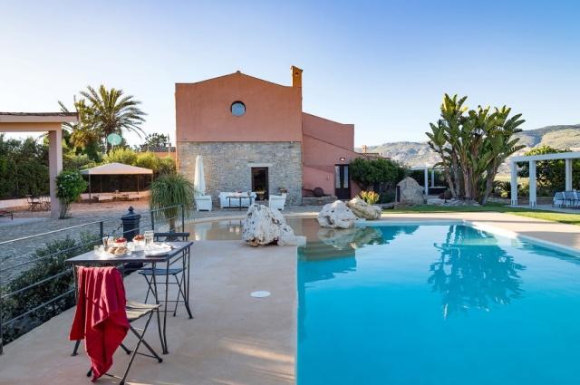 Sicilie Trapani Grote Luxe Villa 18p Zwembad 3