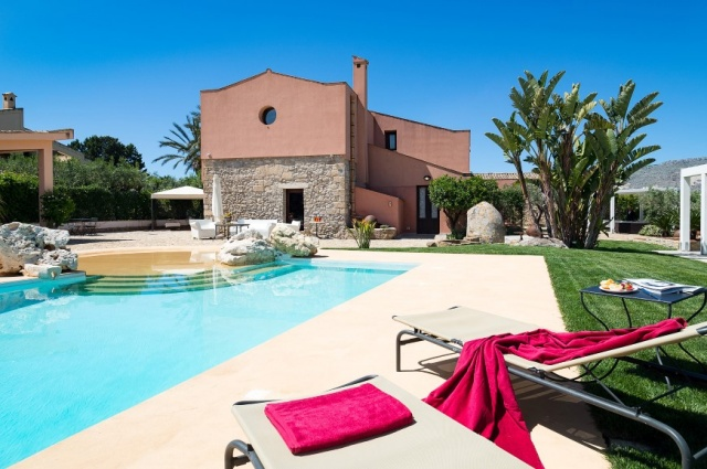 Sicilie Trapani Grote Luxe Villa 18p Zwembad 5