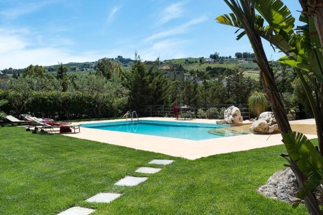 Sicilie Trapani Grote Luxe Villa 18p Zwembad 6