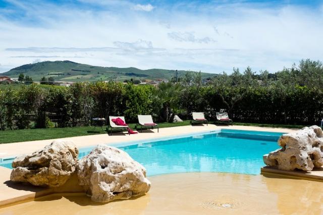 Sicilie Trapani Grote Luxe Villa 18p Zwembad 7