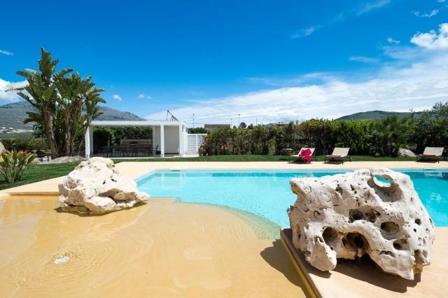 Sicilie Trapani Grote Luxe Villa 18p Zwembad 8
