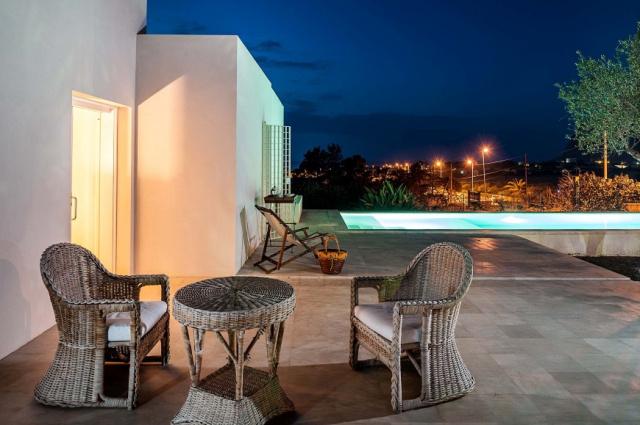 Sicilie Trapani Moderne Villa Zwembad 12