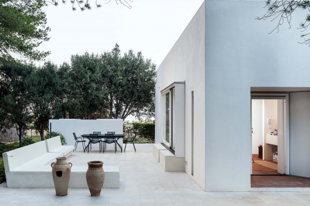 Sicilie Trapani Moderne Villa Zwembad 9