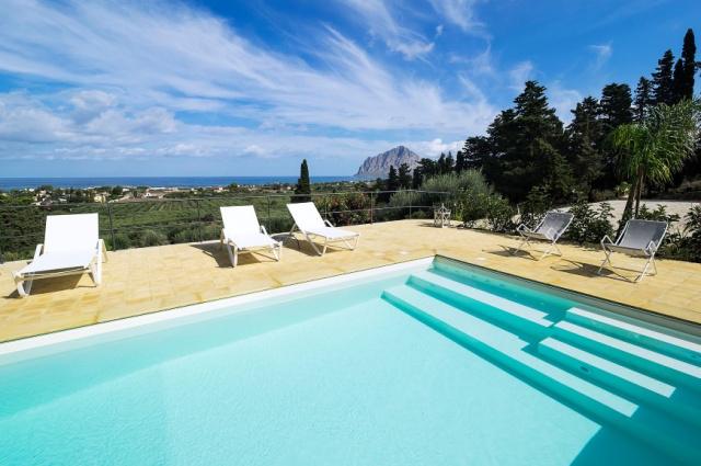 Sicilie Trapani Villa Voor 5 Met Zwembad 2