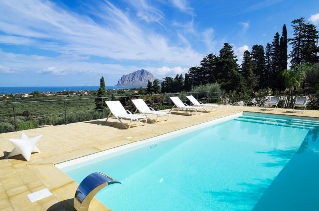 Sicilie Trapani Villa Voor 5 Met Zwembad 3