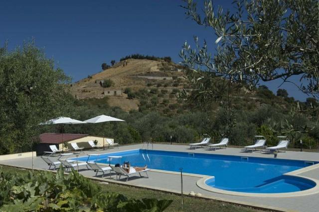 Sicilie Kleinschalige Agriturismo NabijPatti Met Zeezicht En Zwembad 5