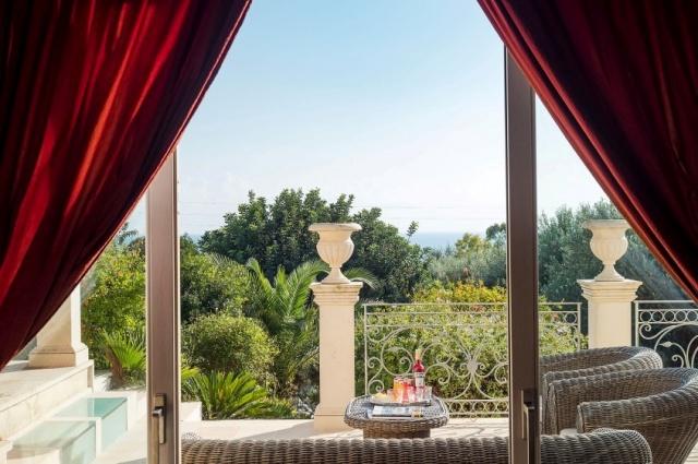 Sicilie Luxe Villa Zwembad Uitzicht Op Zee 9