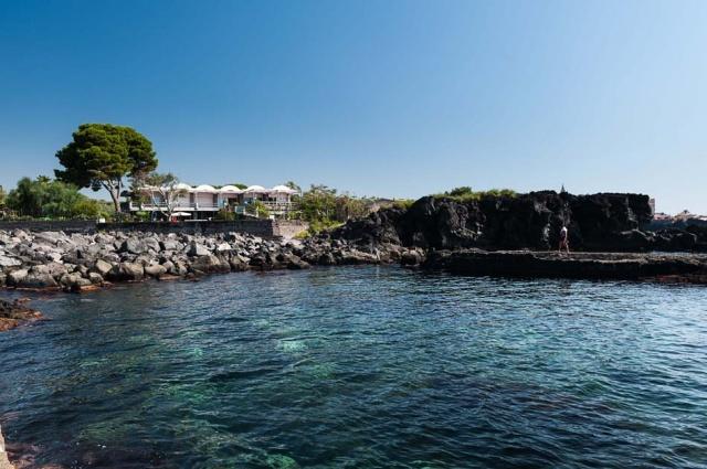 Sicilie Vakantieappartementen Met Zwembad Grote Tuin Direct Aan Zee 26