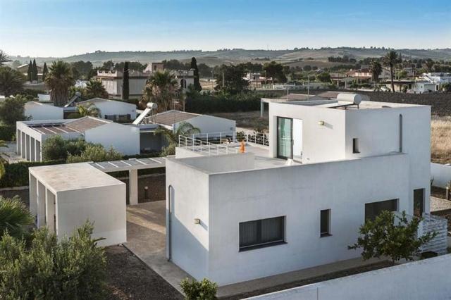 Strak Moderne Villa Vlakbij Strand Sicilie 1